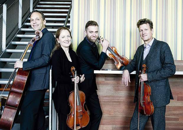 St. Lawrence String Quartet will perform as part of InConcert Sierra's third Sunday series at Seventh Day Adventist in Grass Valley.