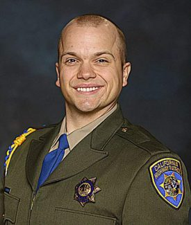 Grass Valley man sworn in as CHP officer