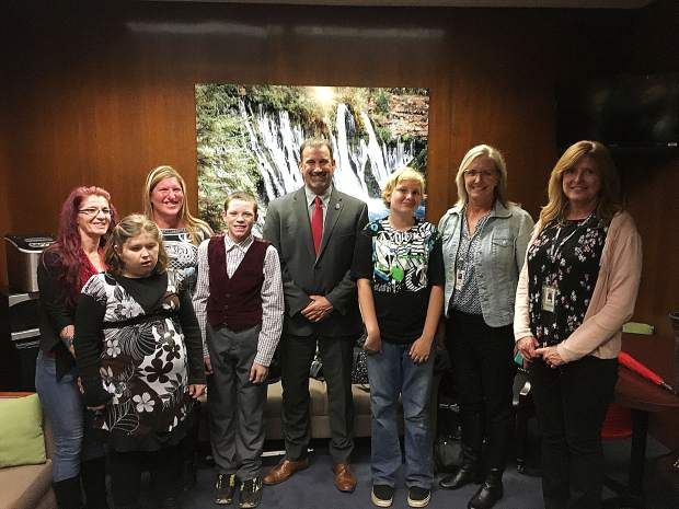 Needing something special: Nevada County students, parents and administrators lobby to expand special needs education