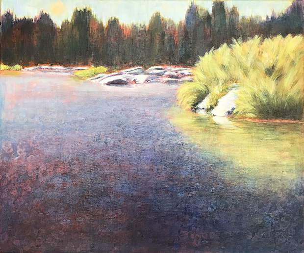 An artist's reception will be held May 3 for local artist Michelle Jewett.