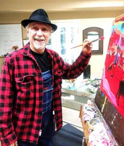 Well, well, well…: Artist Ron Kenedi's work on exhibit at Courtyard Suites