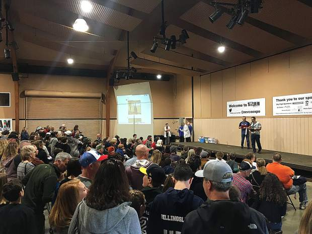 The Nevada County Superintendent of Schools' STEAM Expo 2019 closed with an awards ceremony during which over 50 students were recognized for their work in each STEAM category.