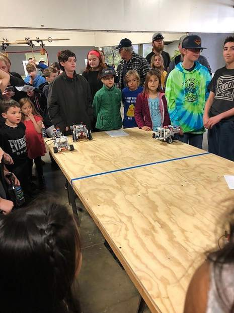 Students competed in on-the-spot robotics competitions, experienced hands-on math challenges, created with 3D printers, as well as assembled and launched paper hot air balloons, among many other activities.
