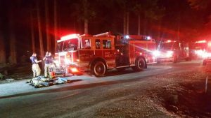 Fire ravages Cascade Shores residence; no one injured, officials say