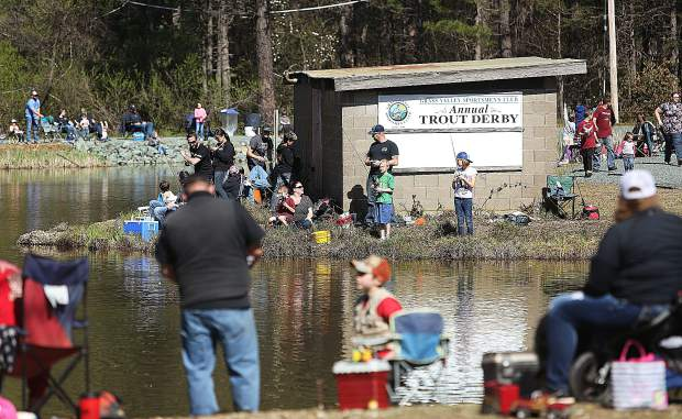 The Grass Valley Sportsmen's Club has kept the trout derby tradition going for 47 years.