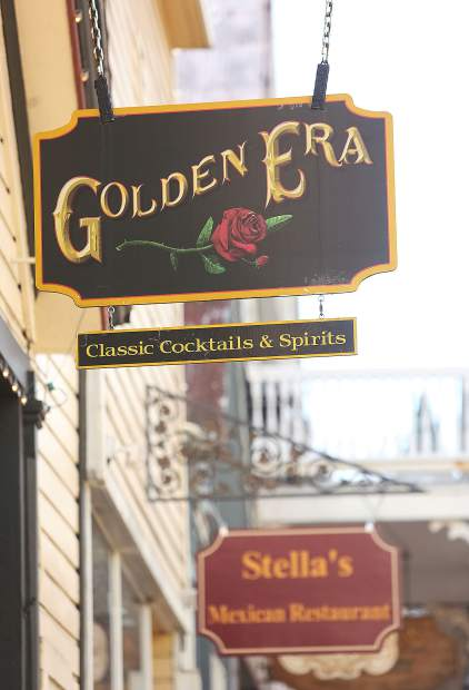 The Golden Era received a plaque dedication from the Nevada County Historical Landmarks Commission Friday afternoon.