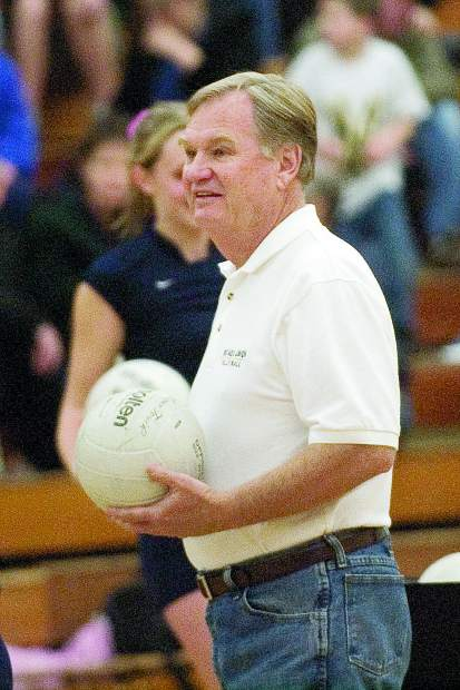 Former Nevada Union girls volleyball coach Larry Peterson will be inducted in to the NU Athletics Hall of Fame April 27.