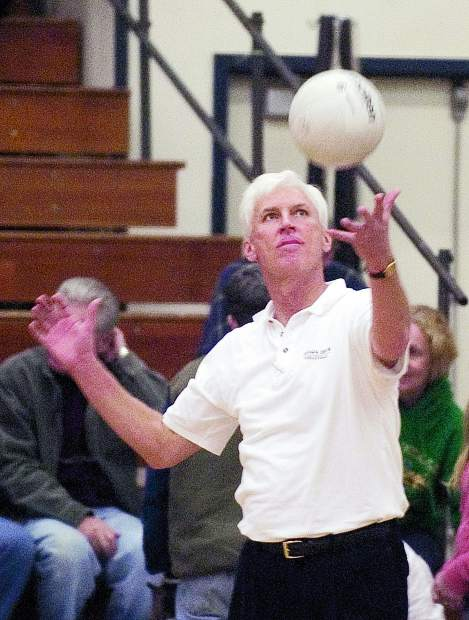 Former Nevada Union girls volleyball coach Bob Rogers will be inducted in to the NU Athletics Hall of Fame April 27.