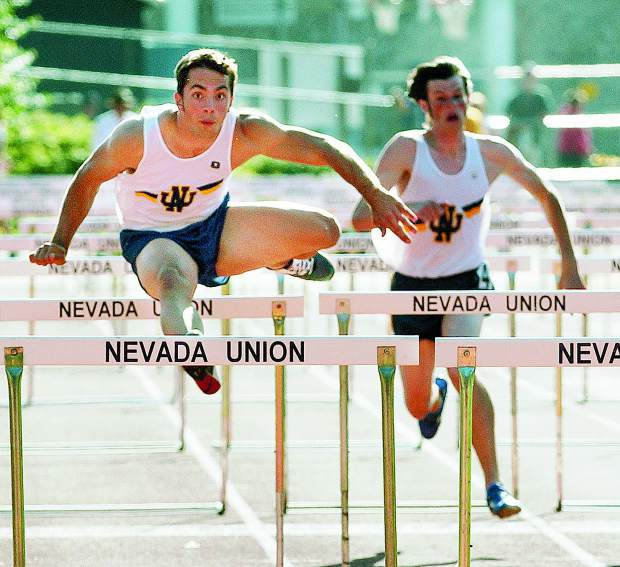 During Steven Conrad's time at Nevada Union, he set school records in the 100-meter sprint, 200m, long jump, 110m hurdles and as a member of the Sac-Joaquin Section championship winning 4x400 relay team.