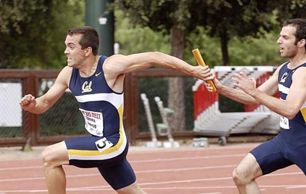 Steven Conrad went on to attend and compete for the University of California, Berkeley, where he became a decathlete. He lettered all four years at Cal, helped set the school record in the 4x400 relay, earned a full-ride scholarship in 2007, and was 11th in the decathlon at the NCAA Division I Championships in 2007.