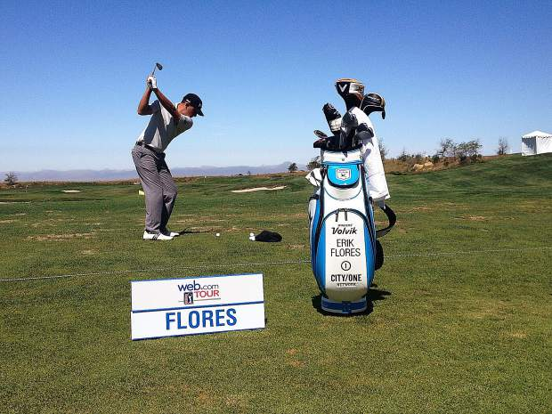 After college, Erik Flores achieved his dream of being a pro athlete and competed on the Web.com Tour from 2012-2015.