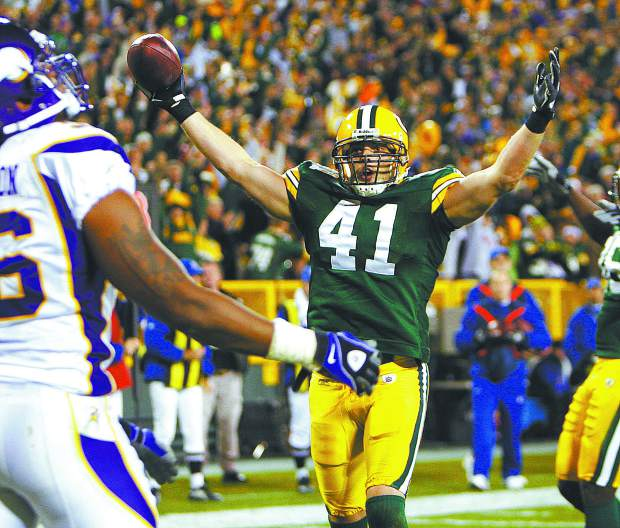 Spencer Havner caught five touchdowns during his time with the Green Bay Packers, including one in the 2009 playoffs.
