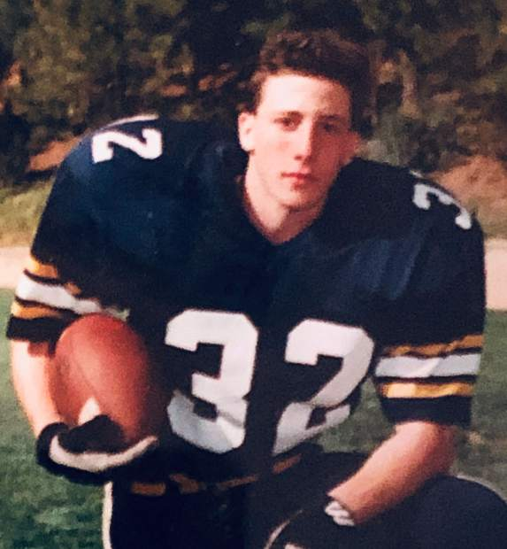 On the gridiron, Joey Hart helped the Miners win back-to-back Sac-Joaquin Section titles (1993, 1994) as a defensive end and running back.