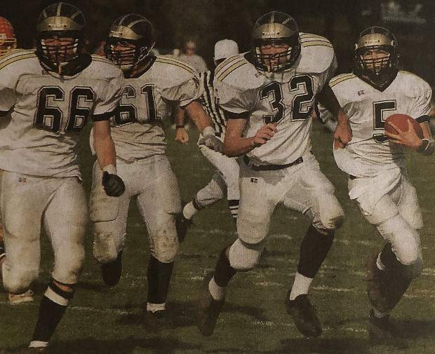 On the gridiron, Jon Sheets (5) was a two-year varsity starter at quarterback and spurred the Miners to a league title in 2002. Sheets was an all-league first team selection his junior season, was the league MVP his senior season and was also selected as a football Optimist All-Star.
