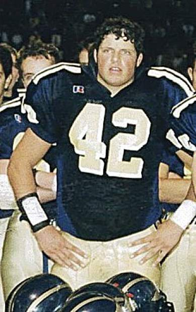 On the football field, Josh Van Matre was a two-time captain on the varsity team, was the 1999 Capital Athletic League Defensive MVP, a two-time All-CAL First Team selection, an Optimist All-Star and the Miner's Jim Brown Award winner as the team MVP.
