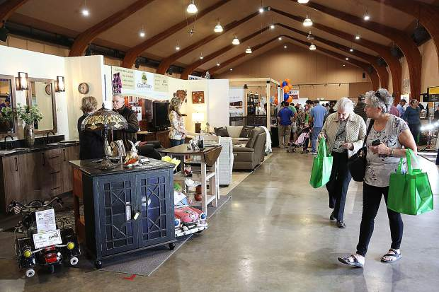 Hundreds of folks walked through the dozens of vendor booths focusing on every type of home improvement imaginable during The Union's Home and Garden Show at the Nevada County Fairgrounds.