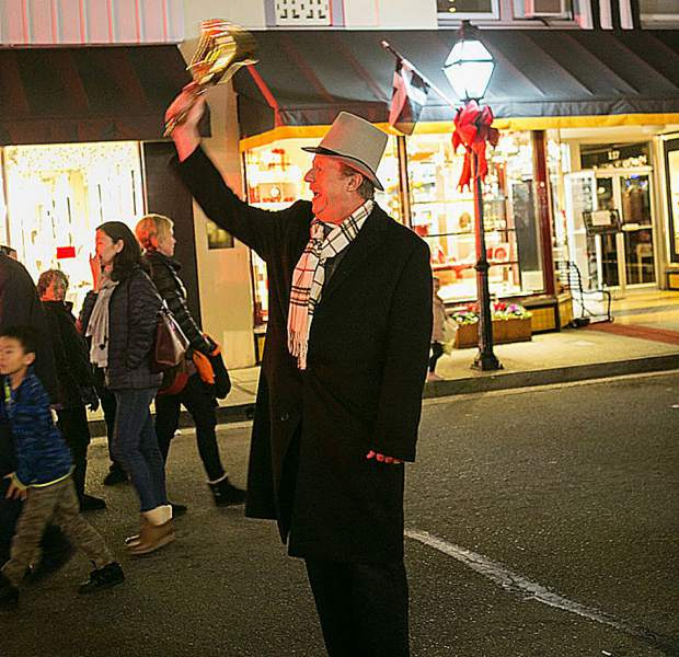 """Paul Haas has been Grass Valley's official """"Town Crier"""" since 2015, dressing in period costume as he represents early Grass Valley settlers and miners who immigrated here from Cornwall, England."""