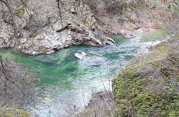 The river near Edwards Crossing is beautiful, but folks are reminded to stay away from the water as spring runoff becomes more prevalent and, thus, dangerous.