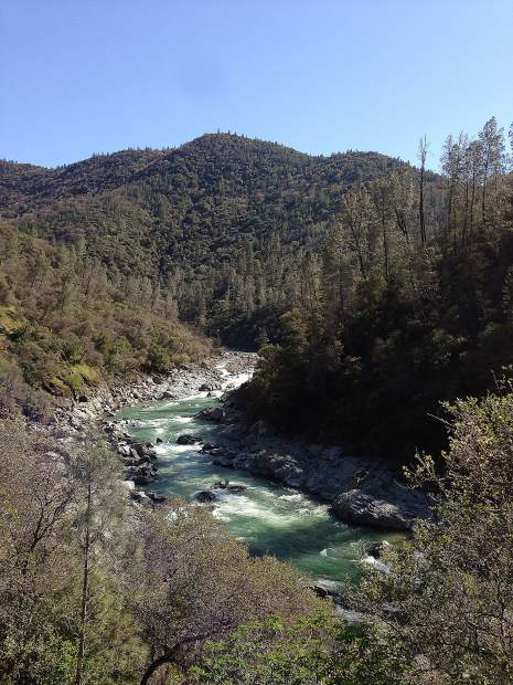 South Yuba River near Bridgeport at the State Park.