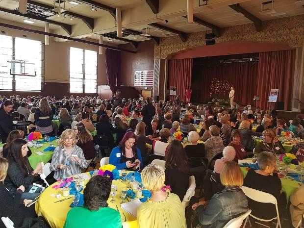More than 350 community members showed up for the Friendship Club's Power of the Purse event.