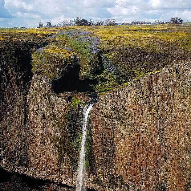 Phantom Falls at North Table Mountain Ecological Reserve near Oroville.