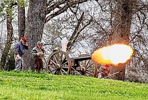 Nevada County Captures: Civil War event in Penn Valley