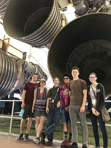 ACME Robotics (our Nevada City/Grass Valley community robotics team) visits the NASA Space Center outside of Houston, Texas before the start of the FIRST Robotics World Competition.