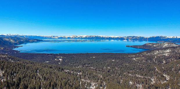 Lake Tahoe Mt. Rose on April 18.