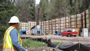Noise complaints stem from drill off East Bennett Drive, though Nevada County says it's in compliance (PHOTO GALLERY/VIDEO)