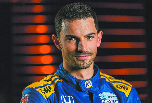 AUTO RACING: Rossi qualifies 9th for Indianapolis 500