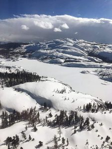 Snowpack water content well above average — 7th highest in 93 years of record