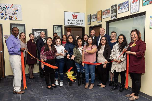 Sierra College's Undocumented Student Center opened with a physical location on the Rocklin campus.