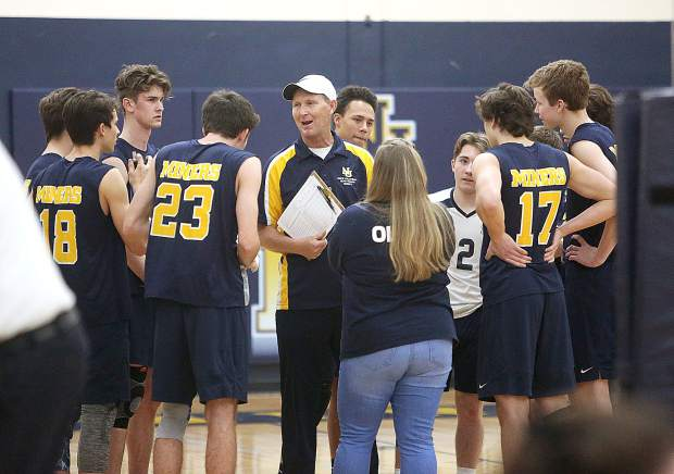 Nevada Union's boys volleyball team went undefeated in league play this season, notching a 10-0 record against Foothill Valley League opponents.