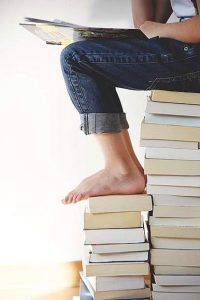 Jenny Wells: Help! What do I do with all these books?