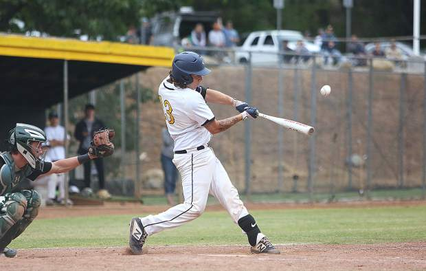 Nevada Union's Andrew Long (13) was named to the 2019 All-Foothill Valley League First Team.