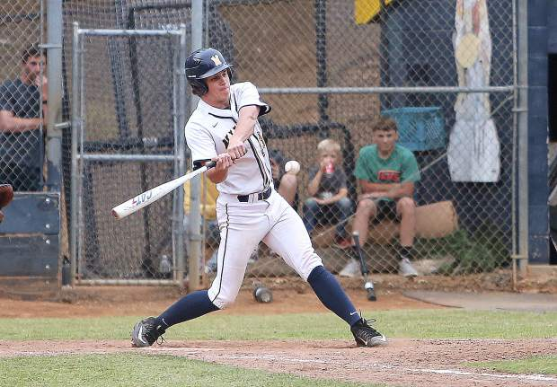 Nevada Union's Evan Hicks was named to the 2019 All-Foothill Valley League First Team.