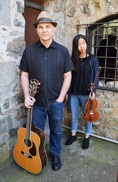 Father/daughter bluegrass duo Robert and Mei Lin Heirendt are Boston Ravine.
