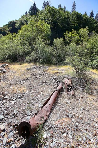 Remnants of the former Champion Mine can be found along the section of Deer Creek property recently allocated to California Heritage: Indigenous Research Project. Tailings and other hazardous material sites on the property must be cleaned up before further usage of the land.