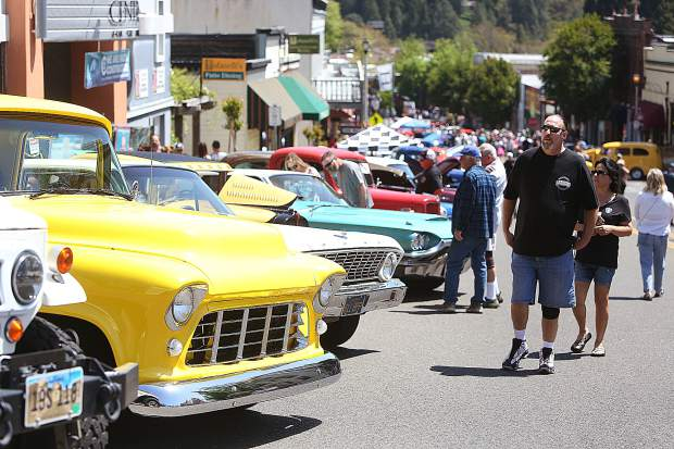 Hundreds of classic vehicles in all shapes, ages, forms, and conditions took to the streets of downtown Grass Valley during the 2019 Downtown Association's car show.