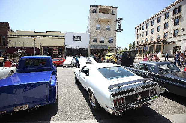 Mustangs, Cudas, Camaros, and Challengers were just some of the many classic cars on display during Saturday's Grass Valley Downtown  Association car show.