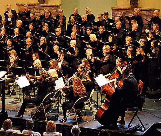 The Sierra Master Chorale's spring concert will be held at Grass Valley's Seventh-day Adventist Church on Sunday afternoon and Tuesday evening.