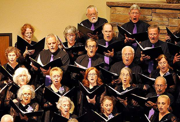 Sunday and Tuesday will have shows for the Sierra Master Chorale and Orchestra.