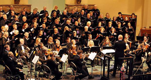 The Sierra Master Chorale and Orchestra is prepped for its inaugural performance under new director Alison Skinner. Shows are scheduled for Sunday afternoon and Tuesday evening.