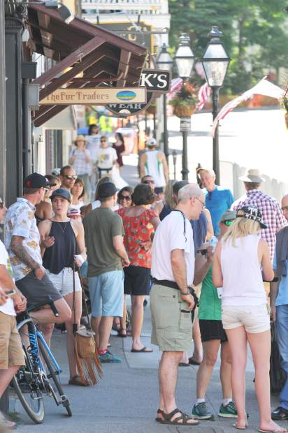 Two years ago, nearly triple-digit heat didn't keep all spectators from coming to downtown Nevada City, though it did keep some racers away.