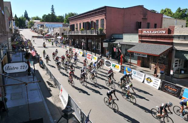 The race brings quite a spectical to downtown Nevada City every summer.
