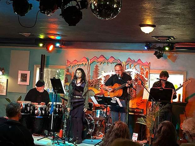 The Latin Jazz & Funk Band will play at the Wild Eye Pub in Grass Valley as a fundraiser for a health clinic set for January.