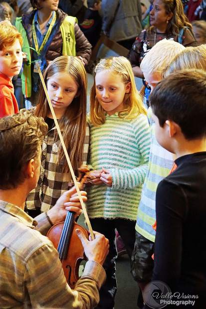 In addition to the Third Grade Education Concerts, InConcert Sierra offers free or reduced priced youth tickets to their Third Sunday Series performances with the purchase of a general admission ticket.