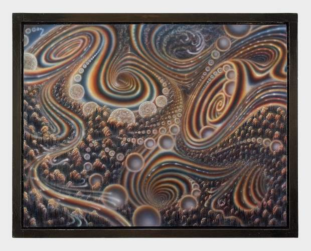 An exhibit of art featuring works by Colin Prahl opens in Nevada City Friday, including this offering called