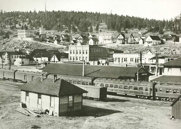 """The transcontinental railroad, though, is responsible for the North Tahoe-Truckee-Donner Summit area today. Without the transcontinental railroad this area would be very different. One past president of the Truckee Donner Historical Society says, """"It all started because of the railroad."""""""