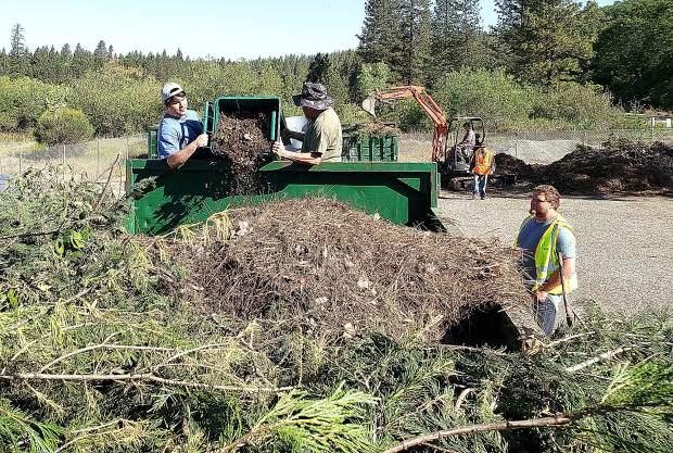 Nevada County residents have a handful of green waste drop-off spots to chose from this weekend and next.